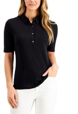 Charter Club Petite Polo Shirt, Created for Macy's