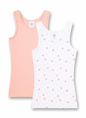 Sanetta Girls' Unterhemd Doppelpack White Underwear 6 Years