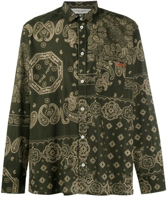 Golden Goose Houston bandana print shirt