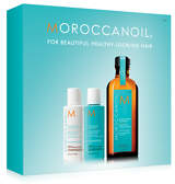 Moroccanoil Treatment 100ml with FREE Hydrating Shampoo and Conditioner 70ml