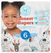 The Honest Company Honest 22-Pack Size 6 Diapers in Space Traveling Pattern