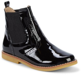 Elephantito Girl's Patent Leather Booties