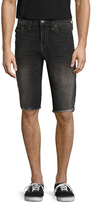 True Religion Ricky Flap Pockets Cropped Shorts