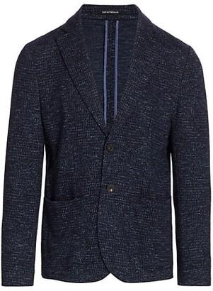 Emporio Armani Soft Virgin Wool-Blend Jacket