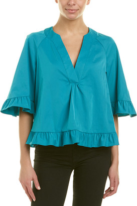 Nanette Lepore Prisoner Of Love Top