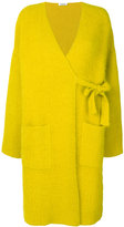 P.A.R.O.S.H. Langy coat - women - Polyamide/Angora/Wool - XS