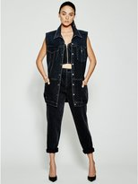 GUESS Originals Longline Denim Vest