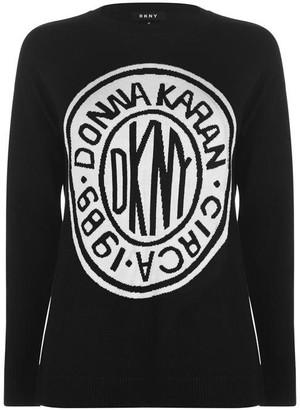 DKNY Coin Logo Jumper