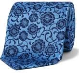 Duchamp Two Colour Floral Tie