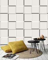 Graham & Brown Grey The Slide Geometric Wallpaper
