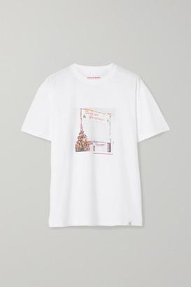 Sleepy Jones Jackson Printed Cotton-jersey T-shirt - White