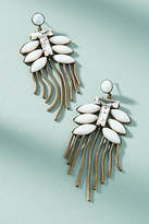 Lionette by Noa Sade Tahiti Snow Fern Drop Earrings
