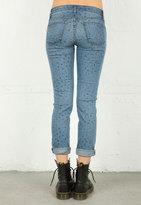 J Brand Slim Relaxed Roll Crop Jean in Vintage Star -