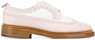 Thom Browne Colour-Block Panelled 35mm Brogues