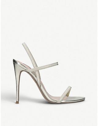 Steve Madden Gabriella faux-leather heeled sandals