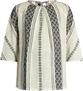 Ace&Jig Beatrice woven-cotton top