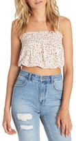 Billabong Women's Sweet Tea Smocked Crop Camisole