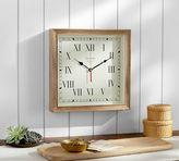 Pottery Barn Newport Wood Clock