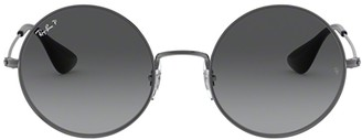 Ray-Ban Ja-Jo Round Frame Sunglasses