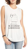 Daydreamer Allergic to Mornings Muscle Tee
