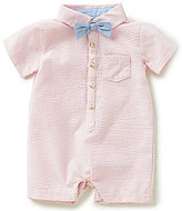 Edgehill Collection Baby Boys Newborn-6 Months Seersucker Romper