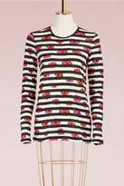 Proenza Schouler Striped Cotton T-Shirt
