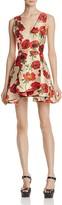 Alice + Olivia Tanner Floral-Print Dress
