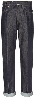 Dries Van Noten Mid-rise wide-leg jeans