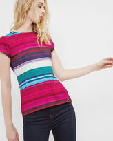 Ted Baker Striped fitted Tshirt