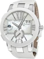Ulysse Nardin Women's 24310/391 Executive Dual Time Diamond Dial Watch