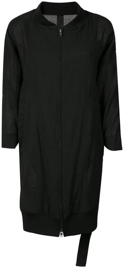 Ann Demeulemeester mid-length zipped jacket