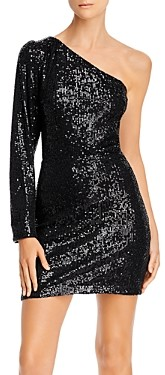 Endless Rose Sequined One-Shoulder Dress - 100% Exclusive