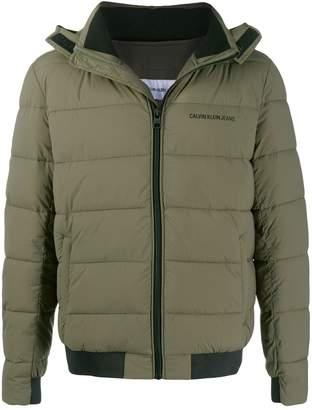 Calvin Klein Jeans padded shell jacket