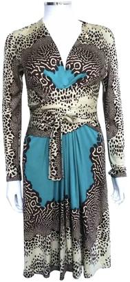 Issa Blue Silk Dress for Women
