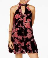 American Rag Juniors' Velvet Choker Dress, Created for Macy's