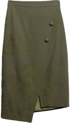 MATTEO MANZINI Knee length skirts