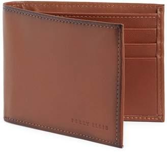 Perry Ellis RFID Logo Leather Bi-Fold Wallet