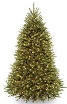Dunhill National Tree 7 1/2-Feet Fir Tree, Hinged, 750 Clear Lights (DUH-75LO)