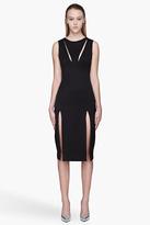 Hakaan Black cut-out Maple Dress