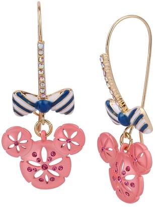 Disney Minnie Mouse Sand Dollar Earrings by Betsey Johnson