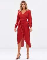 Manhattan Wrap Dress