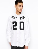 A Question Of Shirt with Stay Real Print