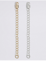 M&S Collection Gold & Silver Plated Necklace Extenders
