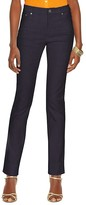 Lauren Ralph Lauren Curvy Straight Leg Jeans in Harbor