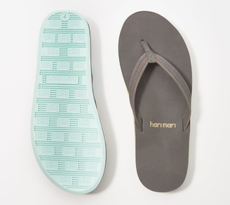 Hari Nubuck Leather Thong Sandals - Fields