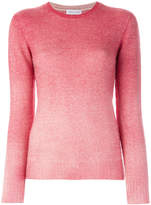 Agnona gradient crew neck jumper