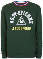 Le Coq Sportif Dark Green St Etienne Sweatshirt*