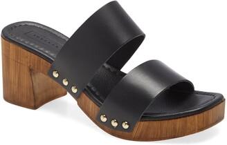 Topshop Vida Platform Slide Sandal