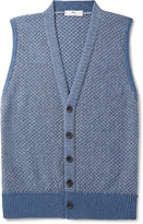 Inis Meáin - Cotton, Cashmere, Silk And Linen-blend Vest