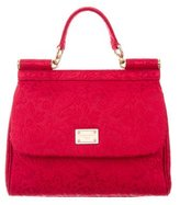 Dolce & Gabbana Jacquard Miss Sicily Bag